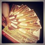 Tiket-tiket yang @mbaTitis bagi di #dFreeTickets